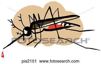 Clipart - a mosquito. fotosearch  - search clipart,  illustration,  drawings and vector  eps graphics images
