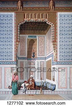 Stock Photo - 'khosne ahmed  el-bordeyny',  19th century.  fotosearch - search  stock photos,  pictures, images,  and photo clipart