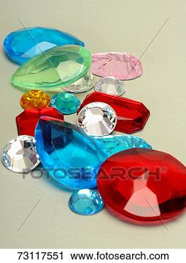 Stock Photography - various coloured  gems. fotosearch  - search stock  photos, pictures,  images, and photo  clipart