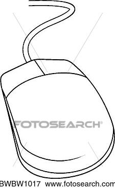 Clip Art - mouse. fotosearch  - search clipart,  illustration,  drawings and vector  eps graphics images