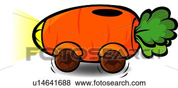 Clip Art - ingredient, car,  food material,  cuisine, food,  vegetables, carrot.  fotosearch - search  clipart, illustration,  drawings and vector  eps graphics images