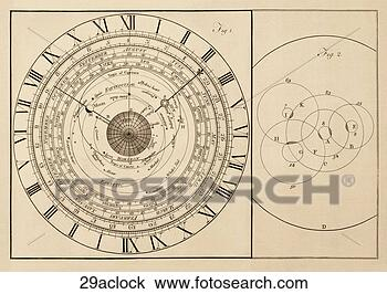 drawing of antique scientific diagram copper engraving. Black Bedroom Furniture Sets. Home Design Ideas